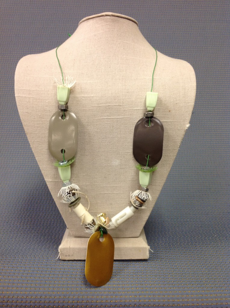 Necklace Featuring Design Samples