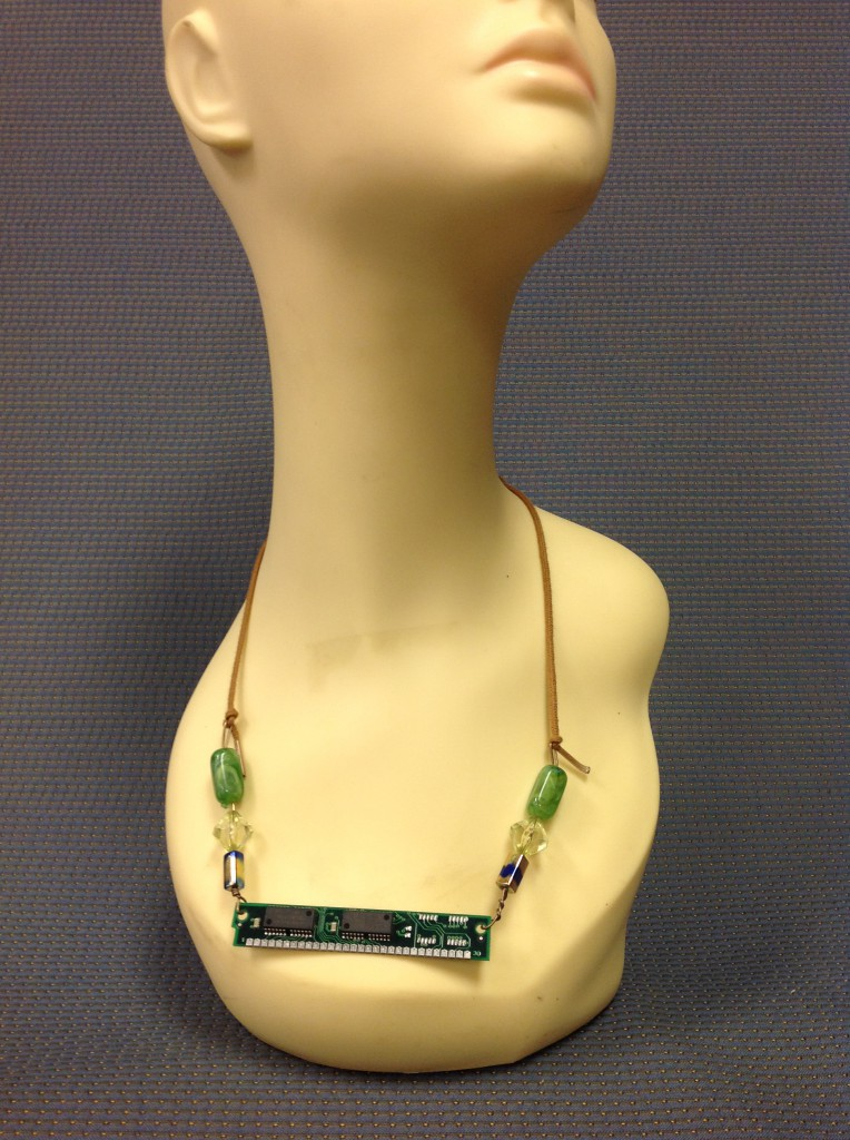 Bead and Computer Necklace
