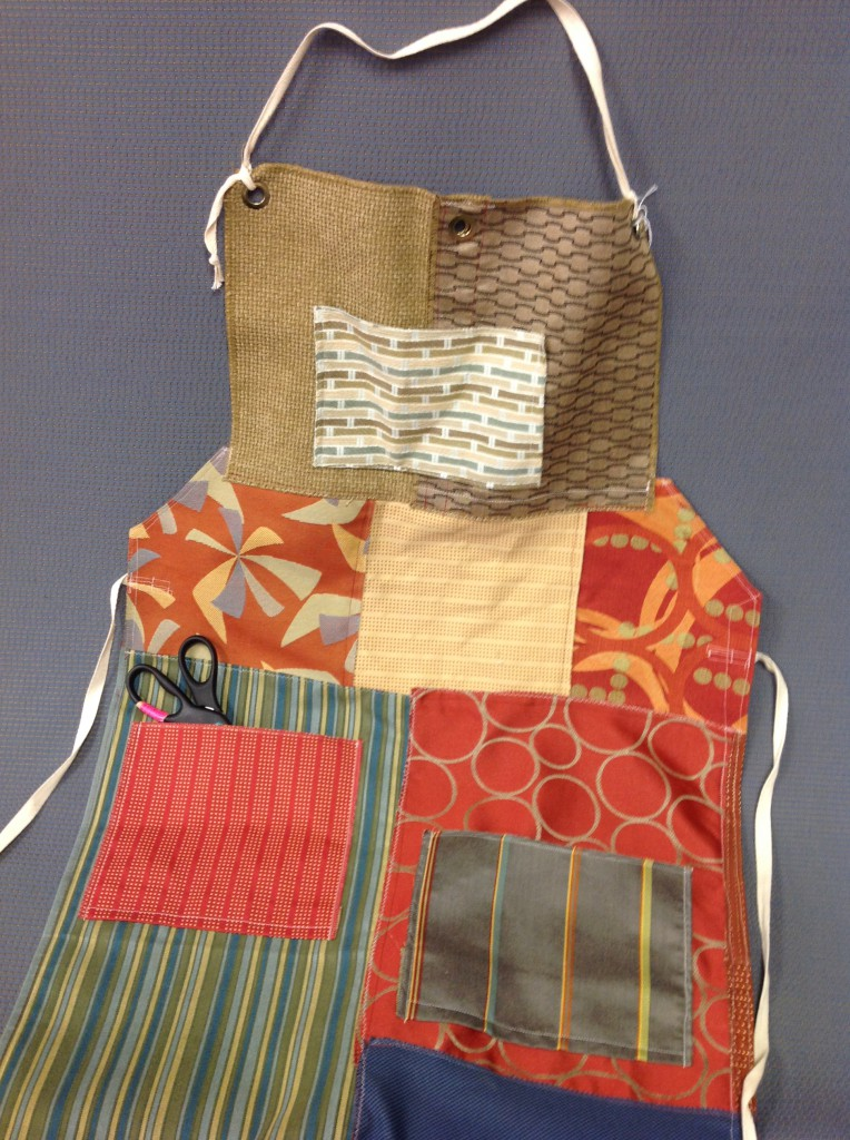 Fabric Sample Apron