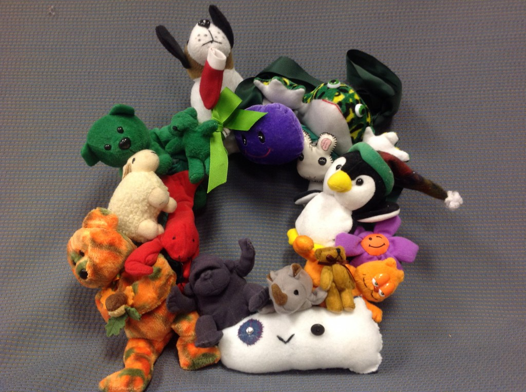 Stuffed Toy Wreath
