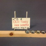 Old Timey Shoe Scraper