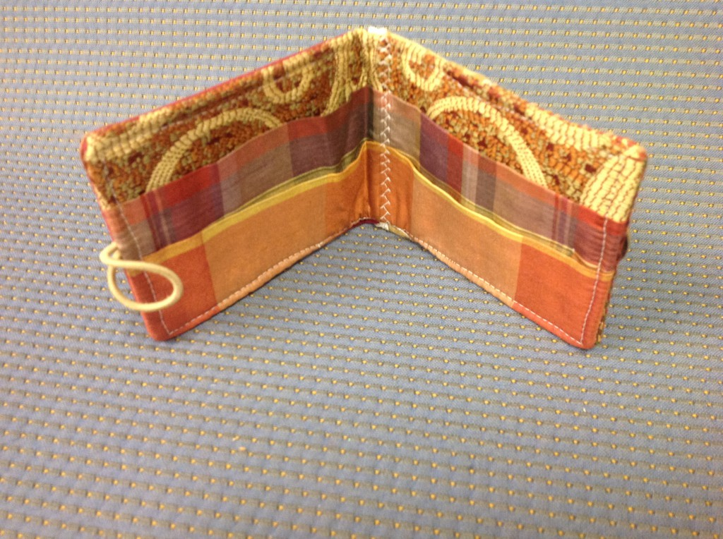 Fabric Sample Wallet