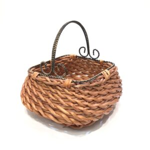 metal handle basket