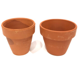 mini terra cotta pots
