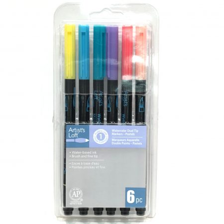 Artists loft dual tip watercolor markers